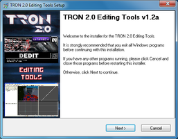 TRON 2.0 Self-Installing Editing Tools by redrain85