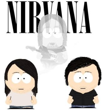 South Park Nirvana by lord-nightbreed