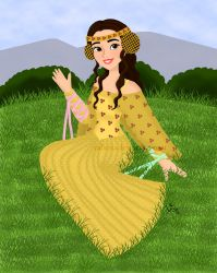 Padme in the Meadow by valloria