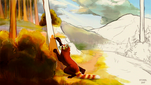 painting a world by Storiel