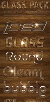 Glass Pack - Text Styles by ivelt