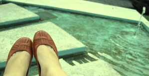 red shoes by eticheta