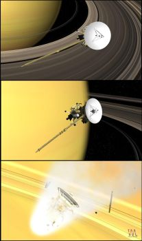 Cassini end game by VisualMotionMedia