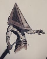 Pyramid head by MrMayhemm