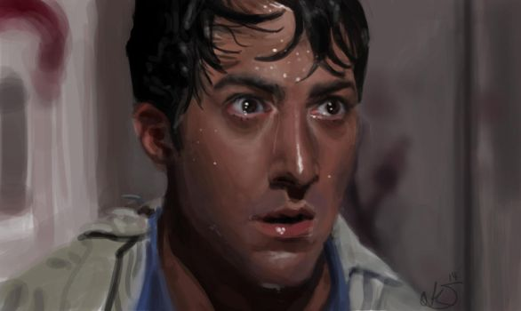 Portrait Dustin Hoffman by lakengubben