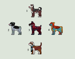 [SALE] Animated Canine Icon Adopts [Closed] by coyd0g