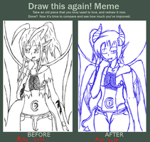Draw this again Meme by GtsMayCry7