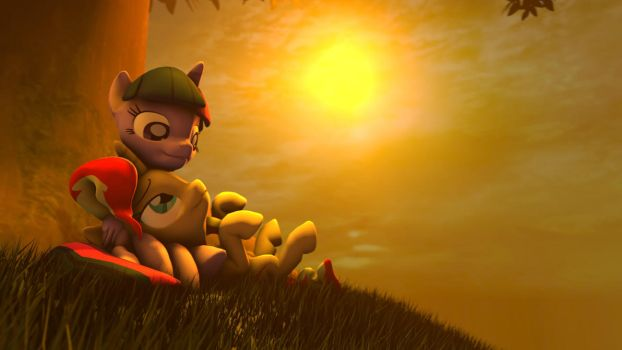 [SFM] Snuggling Sunlight by Jarg1994