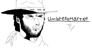 Clint Easwood by umbrellamaster