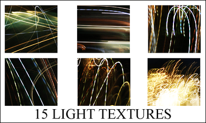 15 Abstract Light Textures by illusionistica