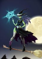 Meiga - Team Witches entry by opcrom