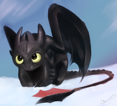 Toothless by Martith