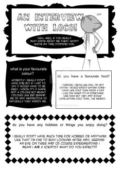 Loco Interview 1 by mysteryclubcomic