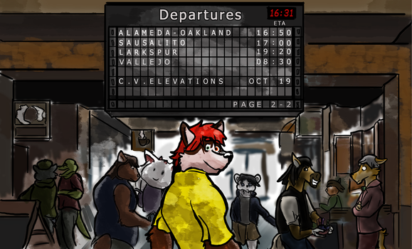 Departures by MikeFolf