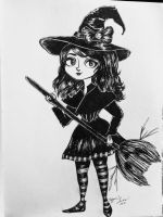 Feelin a bit witchy by PiddlePuddle