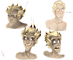 Junkrat headshots by yuramec
