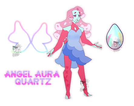 Angel Aura Quartz [SUOC Ref. Sheet] by Pleading-Peasant