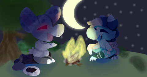 Smores and stories  by DJMIXX20
