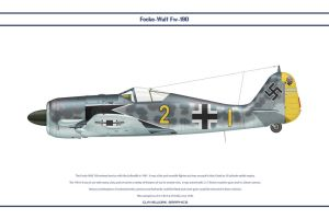 Fw190A4 JG2 2 by WS-Clave