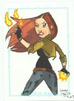 Liz Sherman by LauraInglis