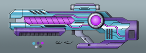 Scifi Laser Rifle by BurgerForLunsh