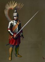 Heavy Polish winged Hussars by CG-Zander