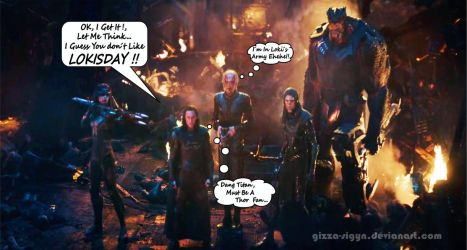 Lokisday With The Black Order By Gizza Sigyn SP by Gizza-Sigyn