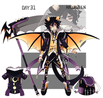 Day 31 - HALLOWEEN - 24h auction - [closed] by ButterflyBandit