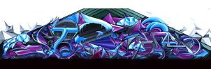 Full Wildstyle piece by Viper627