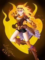 Yang Xiao Long (Steampunk) by Blazethemoviecat