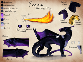 Essence OC Ref by light-star-does-art