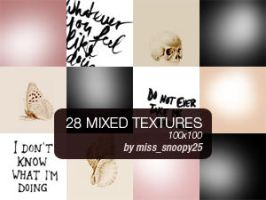 28 icon sized textures by misssnoopy25