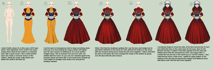 Snow White: Step by Step by Liltio