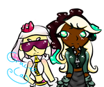 Hero Mode Pearl And Marina by GracieCat812