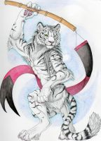 Banner Tiger by RedWolfmoon