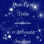 Pixie Dust Trails brushes by rL-Brushes