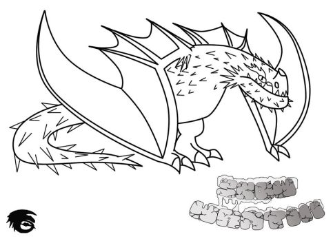 Httyd character templates by scalebound on deviantart scalebound 8 19 snow wraith line art and character template by scalebound pronofoot35fo Choice Image