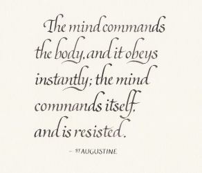 St Augustine - The Mind by MShades