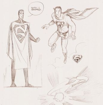 Sketches of Krypton by dan-sch