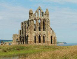 Traditional building - Whitby Abbey by ahappierlife