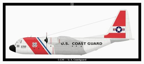 C-130 USCG by PsykoHilly