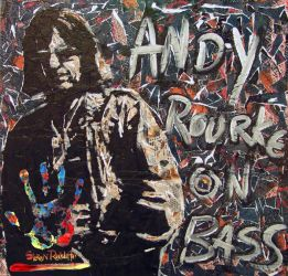 Andy Rourke by racco