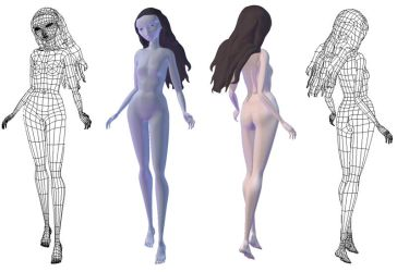 Moon character WIP by Selina42