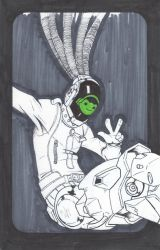 Inktober 2017: Day 24 by Logical-Cogs