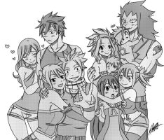 Fairy tail family! by Karola2712