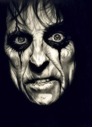 Poison - Alice Cooper by TheNightGallery