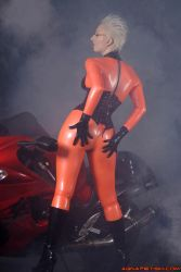 Orange Latex and Suzuki..... by AgnaDevi