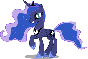 Luna of the night with a smile! by CaNoN-lb