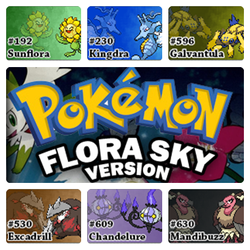 PokemonFloraSkyVersion.ChampionTeam by Riftinge