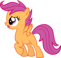 Vector Scootaloo by Kyss.S by KyssS90
